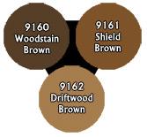 Master Series Paints: Grey Browns Triad