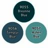 Reaper Master Series Paints: Martial Blues Triad