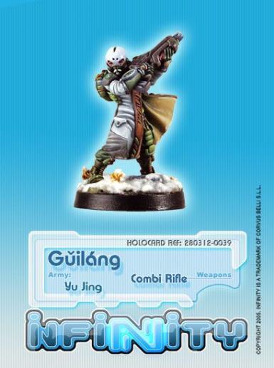 Infinity (#039) Yu Jing Guilang (Ghost Wolves) (Combi Rifle)