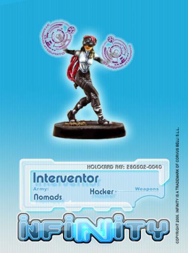 Infinity (#040) Nomads Interventor (Hacker)