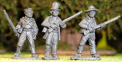 Artizan Designs Wild West: Texian Volunteers I (3)