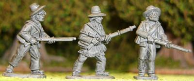 Artizan Designs Wild West: Texian Volunteers II (3)