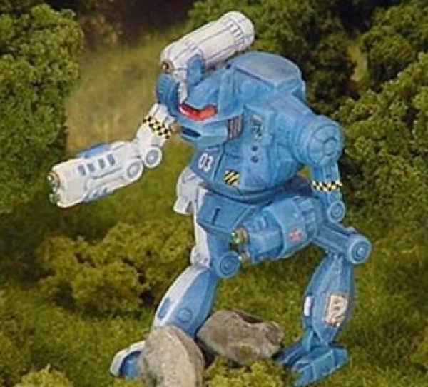 BattleTech Miniatures: Hauptman Mech (TRO 3060)