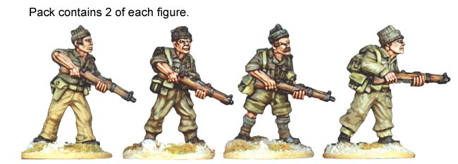 Artizan Designs WWII 28mm: British Commandos I (4)