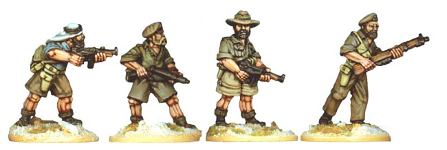 Artizan Designs WWII 28mm: S.A.S. - Long Range Desert Group II (4)