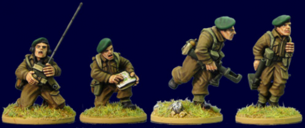 Artizan Designs WWII 28mm: Commando Command II (4)