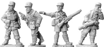 WWII 28mm: French Officers (Foreign Legion) (4)