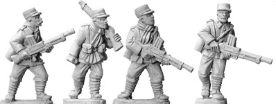 Artizan Designs WWII 28mm: French Foreign Legion LMG (4)