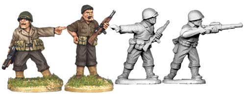 Artizan Designs WWII 28mm: US Infantry Command (4)