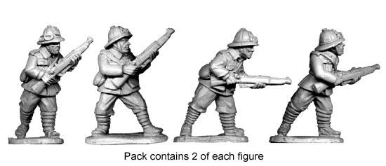 Artizan Designs WWII 28mm: Italian Infantry II (4)