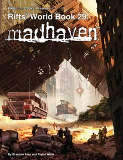Rifts RPG World Book 29: Madhaven