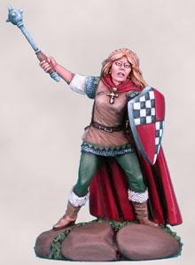 Avalyne, Female Cleric w/Mace