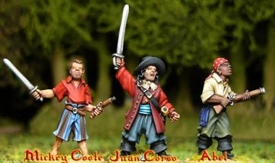 Artizan Designs Pirates: Juan Corso's Buccaneers (3)