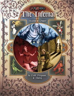 Ars Magica RPG: Realms of Power - The Infernal HC