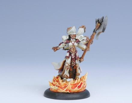 (The Protectorate Of Menoth) Epic Warcaster Feora