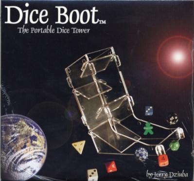 Chessex Dice Towers: Dice Boot - The Portable Dice Tower