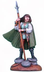 Mind Of The Magic, Female Ranger w/Spear