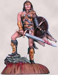 Dragons Blood, Female Warrior w/Sword