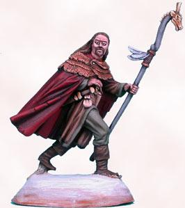Mountain Conflict, Male Wizard w/Staff