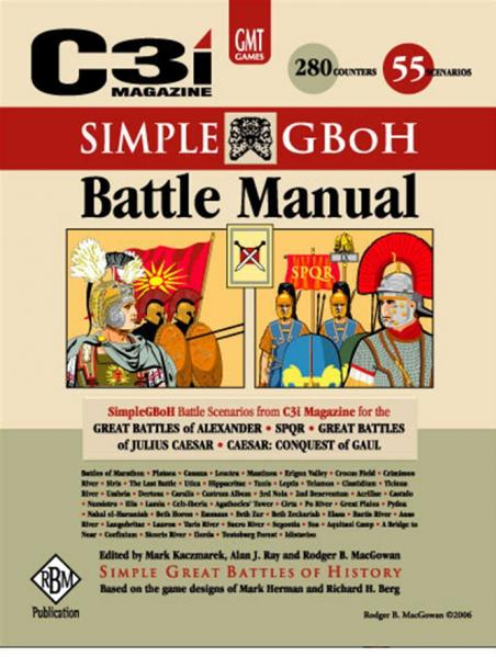 Simple Great Battles of History: Battle Manual (SGBoH)