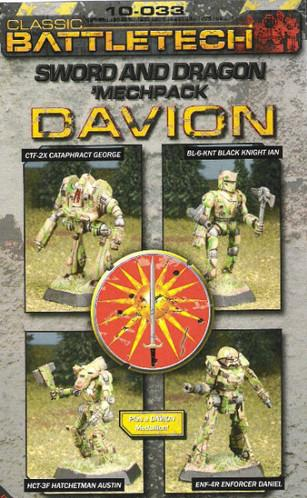BattleTech Miniatures: Davion Sword & Dragon Mech Pack I