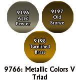 Master Series Paints: Metallic Colors V