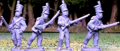 Artizan Designs Wild West: Mexican Infantry I (4)