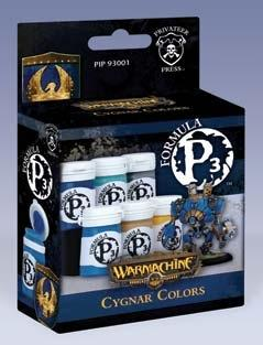 Formula P3 Paints: Cygnar Colors Box Set