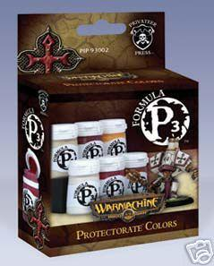 Formula P3 Paints: The Protectorate Of Menoth Colors Box Set