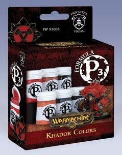 Formula P3 Paints: Khador Colors Box Set
