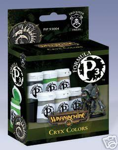 Formula P3 Paints: Cryx Colors Set