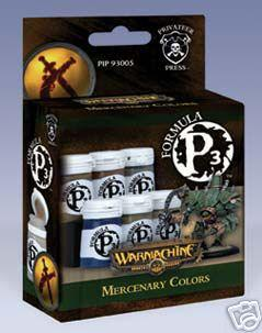 Formula P3 Paints: Mercenary Colors Box Set