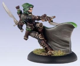 Warmachine: (Mercenaries) Eiryss Hunter Of Ios Mage
