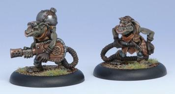 Hordes: (Minions) Swamp Gobber Fog Bellows Crew