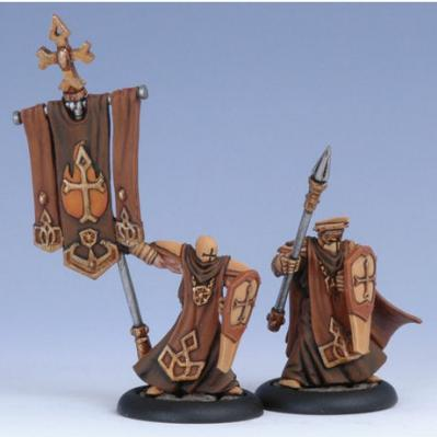 (The Protectorate Of Menoth) Flameguard Officer & Standard