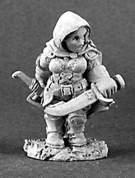 Dark Heaven Legends: Bailey Silverbell, Female Dwarf Scout
