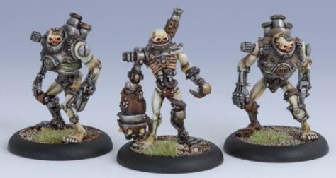 Warmachine: (Cryx) Scrap Thralls (3)