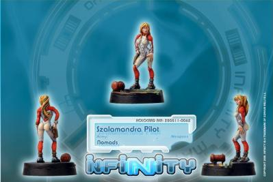 Infinity (#062) Nomads Szalamandra Pilot