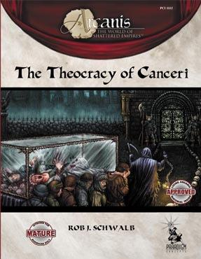 Arcanis RPG: Theocracy of Canceri