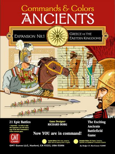 Commands & Colors Ancients Expansion Pack #1: Greece and Eastern Kingdoms