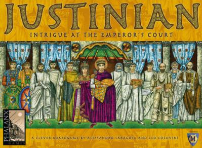 Justinian: Intrigue at the Emperor's Court