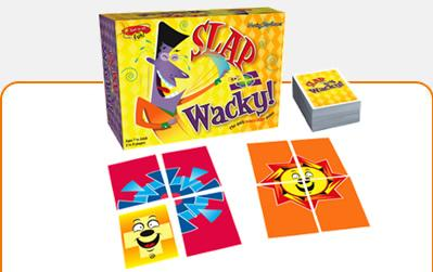 Slap Wacky: The Shape Slapping Card Game