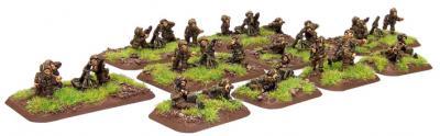 Flames of War: British Parachute Mortar Platoon