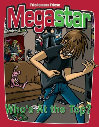 Megastar: The Card Game of Who's at the Top?