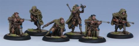 Warmachine (Cygnar) Rangers Unit Box