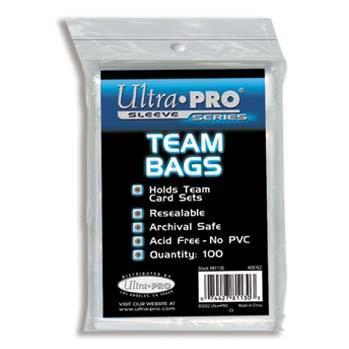 Clear Team Bags (100)