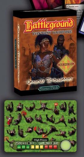 Battleground Fantasy Warfare: Umenzi Tribesmen Starter