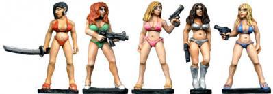 Future Wars: Bodyguards in Bikinis