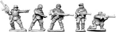 Future Wars: Jungle Trooper Characters