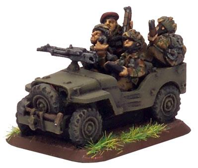 Flames of War: British Airborne Jeep (x2 resin)